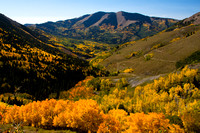 Abajo Mountains in Autumn