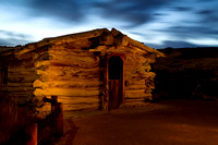 Wolf ranch by night